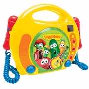 CD Player Veggie Tales Singalong with Mircrophones