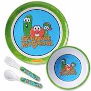 Mealtime Set-Veggie Tales/God Made You Special