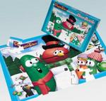 "VeggieTales� 40 piece Floor Puzzle ""Snow Fun"""