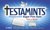 Testamints Sugar Free Peppermint Gum