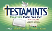 Testamints Sugar Free Spearmint Gum