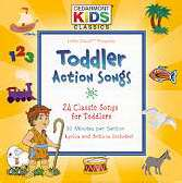 Cedarmont Kids/Toddler Action Songs CD