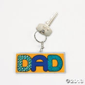 do it yourself dad key chains
