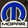 MOPAR - Large Omega Mopar Diecut Decal