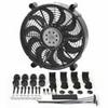 Derale High Output Single RAD Push & Pull-Style Electric Fan