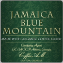 Jamaica Blue Mountain Organic Coffee (1lb Bag)