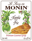 Monin Apple Pie Syrup 750ml