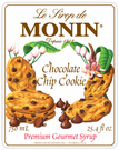 Monin Chocolate Chip Cookie Syrup 750ml