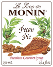 Monin Pecan Pie Syrup 750ml