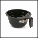 BUNN FUNNEL W/DECALS,BLACK PLASTIC