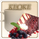 Keoke Coffee Flavored Decaf Coffee (1lb Bag)