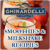 Ghirardelli Smoothies and Milkshake Recipes