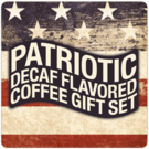 Patriotic Decaf Flavored Coffee Gift Set