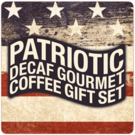 Patriotic Decaf Gourmet Coffee Gift Set