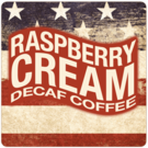 Patriotic Decaf Raspberry Cream