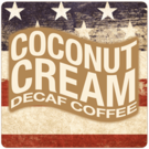 Patriotic Decaf Coconut Cream