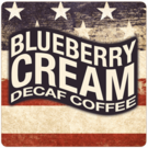 Patriotic Decaf Blueberry Cream