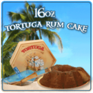 Tortuga Rum Cake (Blue Mountain) (16oz)