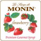 Monin Strawberry Syrup 1L