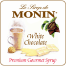 Monin White Chocolate Syrup 1L