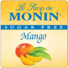 Monin *Sugar-Free* Mango Syrup 1 Liter Bottle
