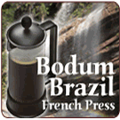 Bodum BRAZIL Coffee Press 3 Cup