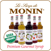 Organic Monin Coffee Syrup