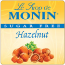 Monin *Sugar-Free* Hazelnut Syrup 750ml