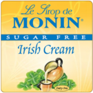 Monin *Sugar-Free* Irish Creme Syrup 750ml