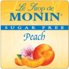 Monin *Sugar-Free* Peach Syrup 750ml
