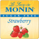 Monin *Sugar-Free* Strawberry Syrup
