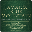 Jamaica Blue Mountain Organic Coffee, 1lb (16 oz)