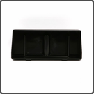 Drip Tray, Blk Molded Fmd