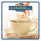 Ghirardelli Sweet Chocolate Peppermint 10lb box
