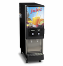 BUNN Gourmet Cold Beverage Systems - Silver Series with 2 Flavors
