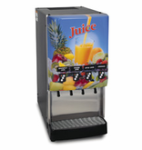 BUNN Gourmet Cold Beverage Systems - Silver Series with 4 Flavors