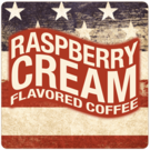 Patriotic Raspberry Cream Coffee