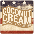 Patriotic Coconut Cream Coffee