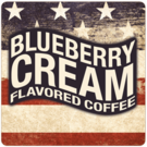 Patriotic Blueberry Cream Coffee