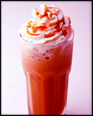 Iced Chocolate Raspberry Cappuccino