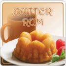 Butter Rum Flavored Decaf Coffee (1lb Bag)