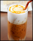 Iced Caramel Apple Latte
