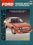 Ford Mustang, Mercury Capri - Chilton Repair Manual
