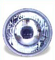 High Beam Curved Lens H1