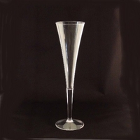 Grand Unbreakable Polycarbonate Champagne Flute Glass - 6 Oz.