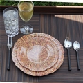 Giving Tree Melamine Dinnerware - Wheat