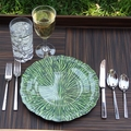 Giving Tree Melamine Dinnerware - Moss
