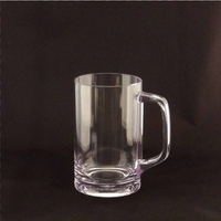 Clear Unbreakable Polycarbonate Mug - 18 Oz.