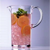 Clear Unbreakable Polycarbonate Pitcher - 54 Oz.