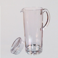 Unbreakable Polycarbonate Pitcher with Lid - 62 Oz.